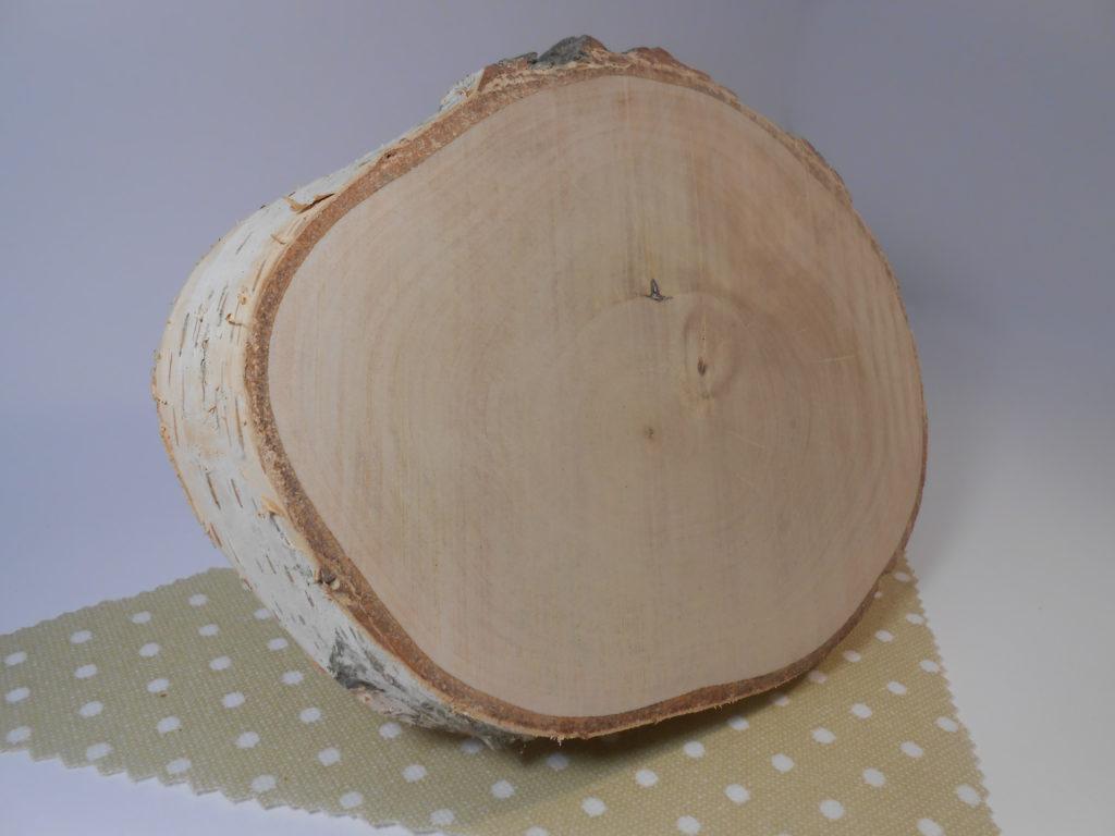 Nyír fa szelet transzfer/dekupázs technikához