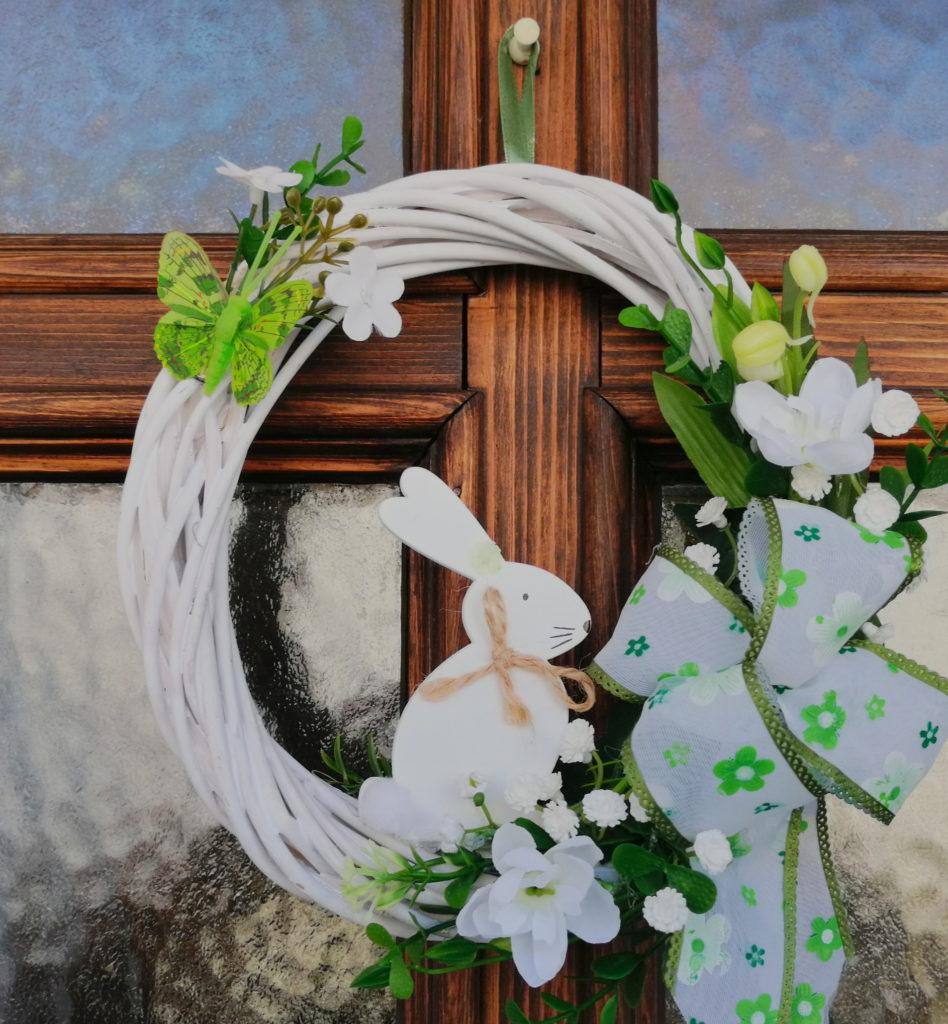 Húsvéti ajtódísz készítése