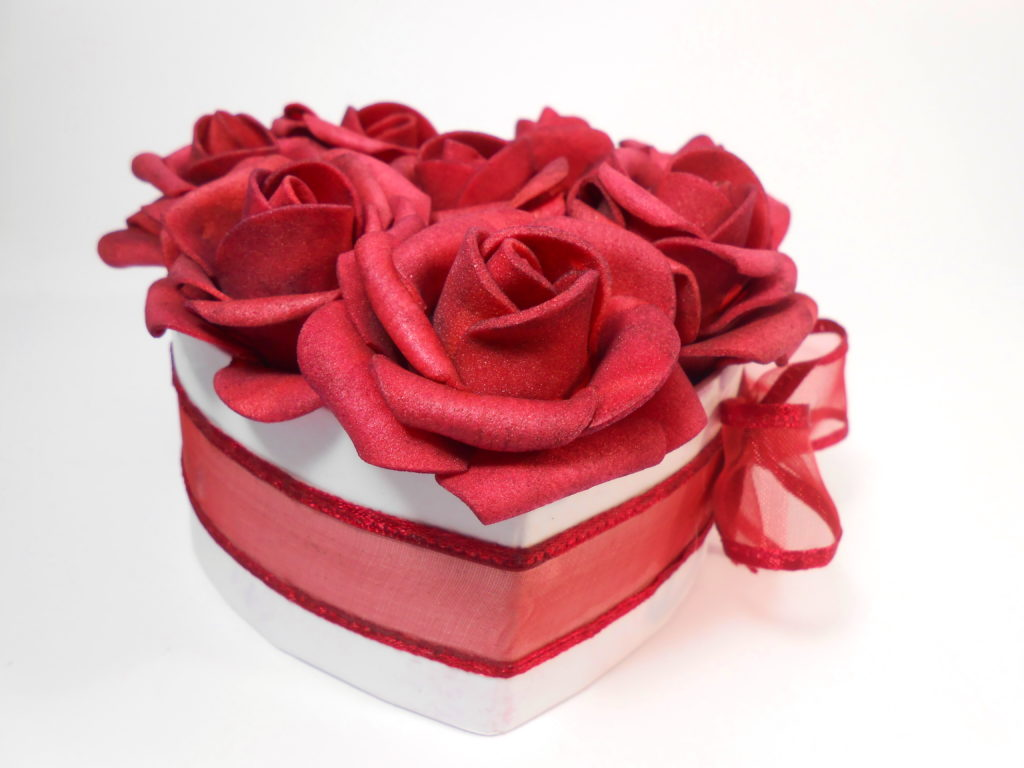 Anyák napi rózsa doboz