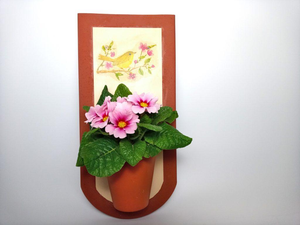 Tetőcserép Virágtartó