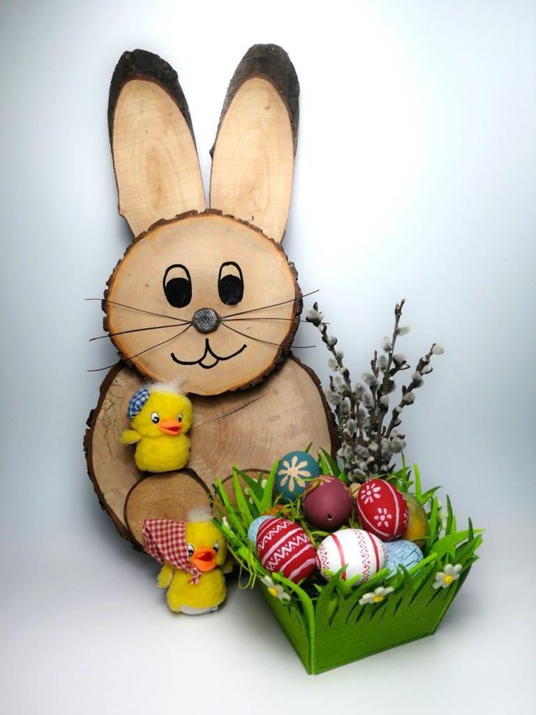 Húsvéti Nyúl Faszeletekből