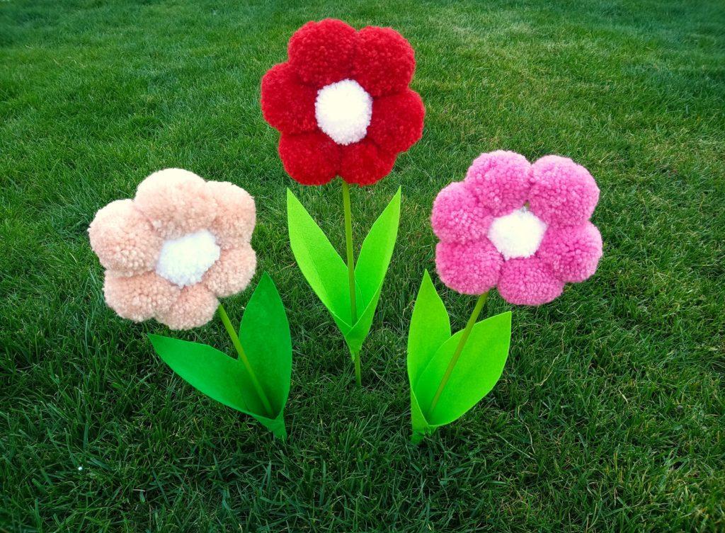 Pompon Virágok