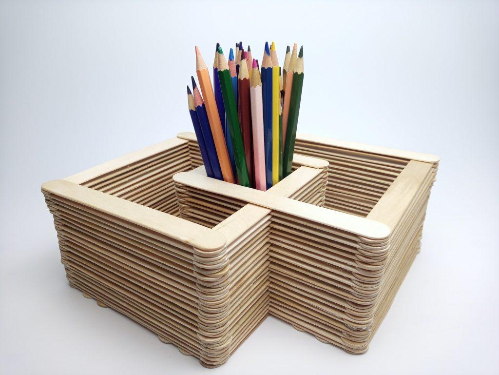 Ceruzatartó Spatulából
