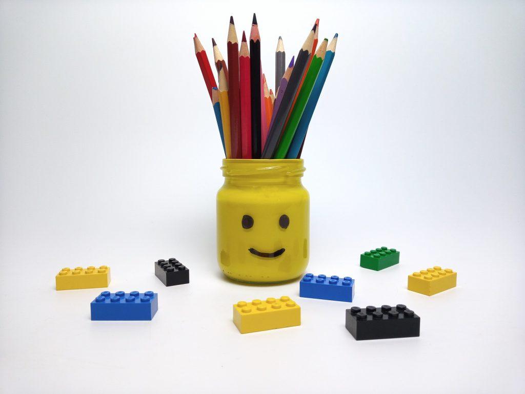 Lego Ceruzatartó