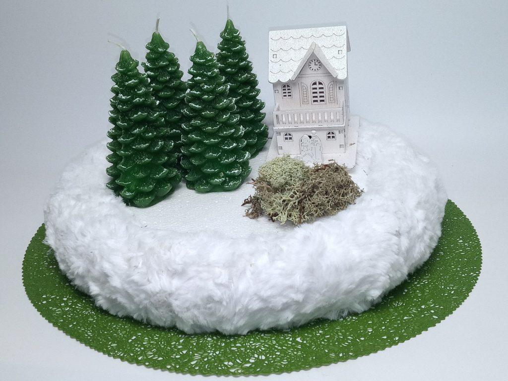 Téli Erdő Koszorú Hozzávalók