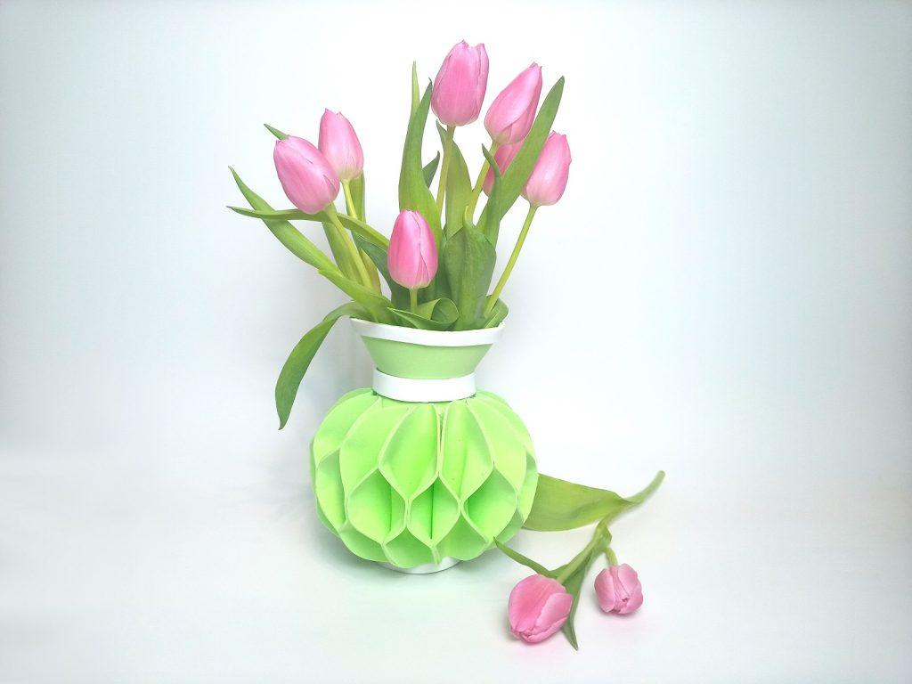 Dekorgumi váza