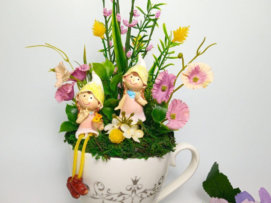 Tavaszi Manós Asztaldísz