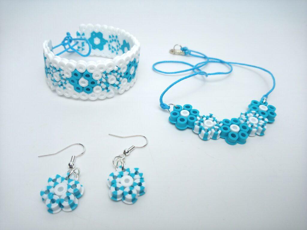 Kék Virágos Ékszerek