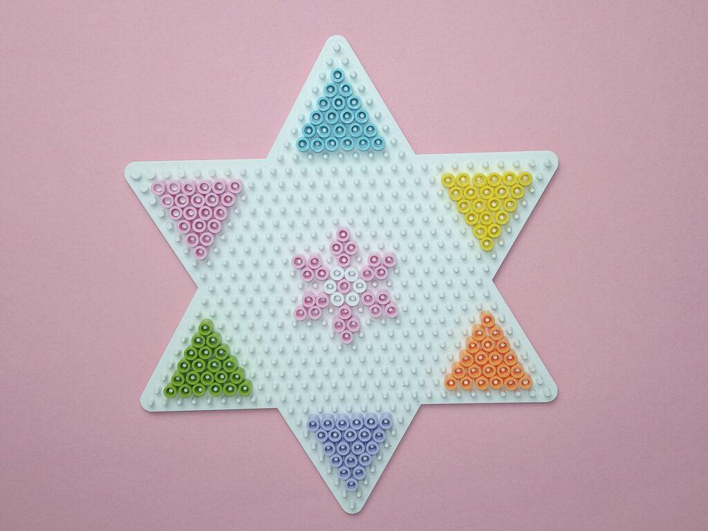 Vasalható Gyöngy Nyaklánc Háromszögek